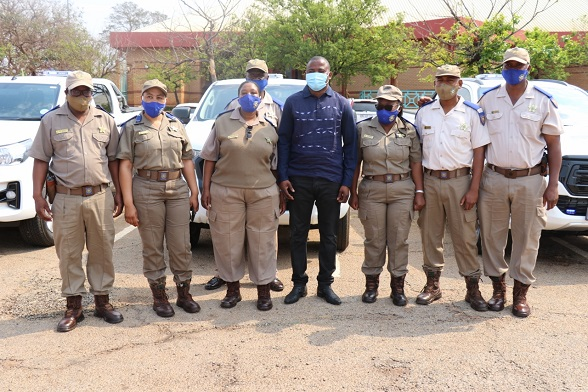 LAUNCH OF 7 TRAFFIC OFFICERS PATROL VEHICLES AND DISTRICT-WIDE COVID19 AWARENESS DRIVE