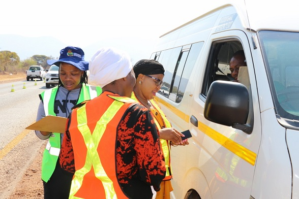 WOMEN ENFORCEMENT OFFICERS MAINTAINS ORDER ON OUR ROAD