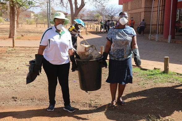 CLEAN-UP CAMPAIGN LAUNCHED