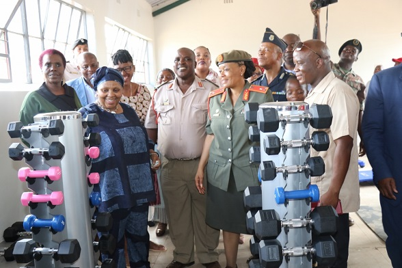 THE SOUTH AFRICAN NATIONAL DEFENCE FORCE HANDOVER THE RESTORED SEKUTUPU OLD AGE HOME LEGACY PROJECT