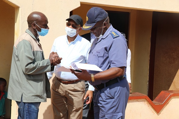PREMIER CHUPU MATHABATHA LED THE COMMAND COUNCIL TEAM TO MONITOR COMPLIANCE ON COVID-19 LOCKDOWN REGULATIONS