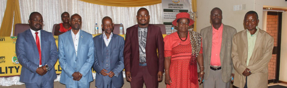 Mayor pays homage to Traditional Leaders at a breakfast meeting