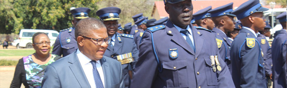 Minister of Police presides over opening of Malipsdrift Police Station