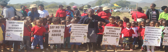 Protecting children to move South Africa forward