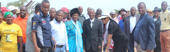 SOD Turning and introduction of roads projects and contractors to Traditional Leaders